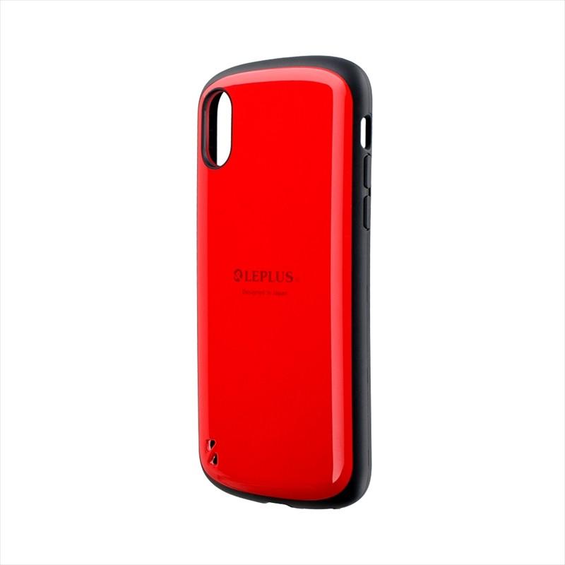 iPhone XS/iPhone X 耐衝撃ハイブリッドケース「PALLET」 レッド