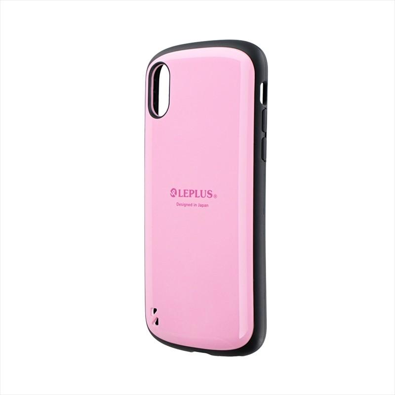 iPhone XS/iPhone X 耐衝撃ハイブリッドケース「PALLET」 ピンク