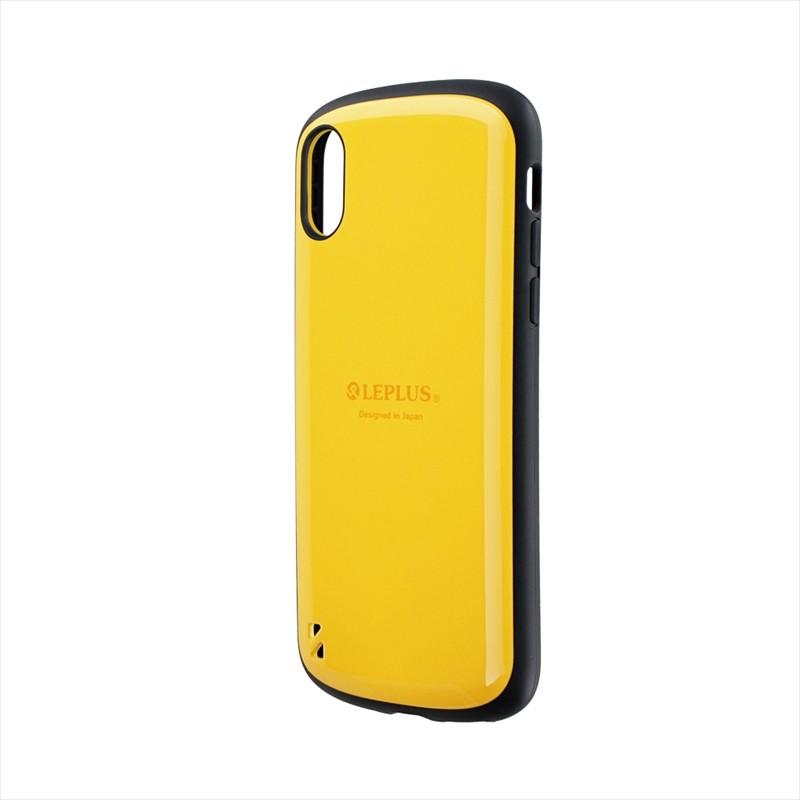 iPhone XS/iPhone X 耐衝撃ハイブリッドケース「PALLET」 イエロー