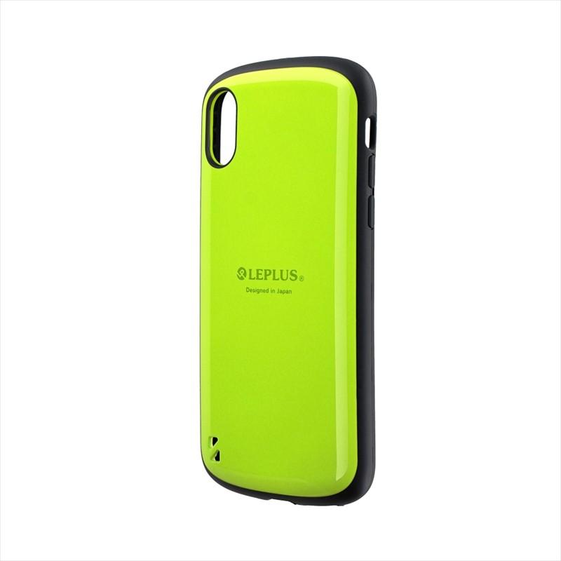 ◇iPhone XS/iPhone X 耐衝撃ハイブリッドケース「PALLET」 グリーン