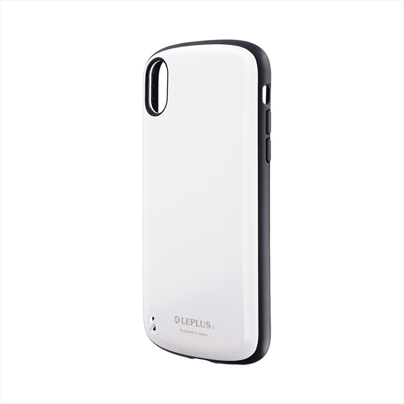 iPhone XR 耐衝撃ハイブリッドケース「PALLET」 ホワイト