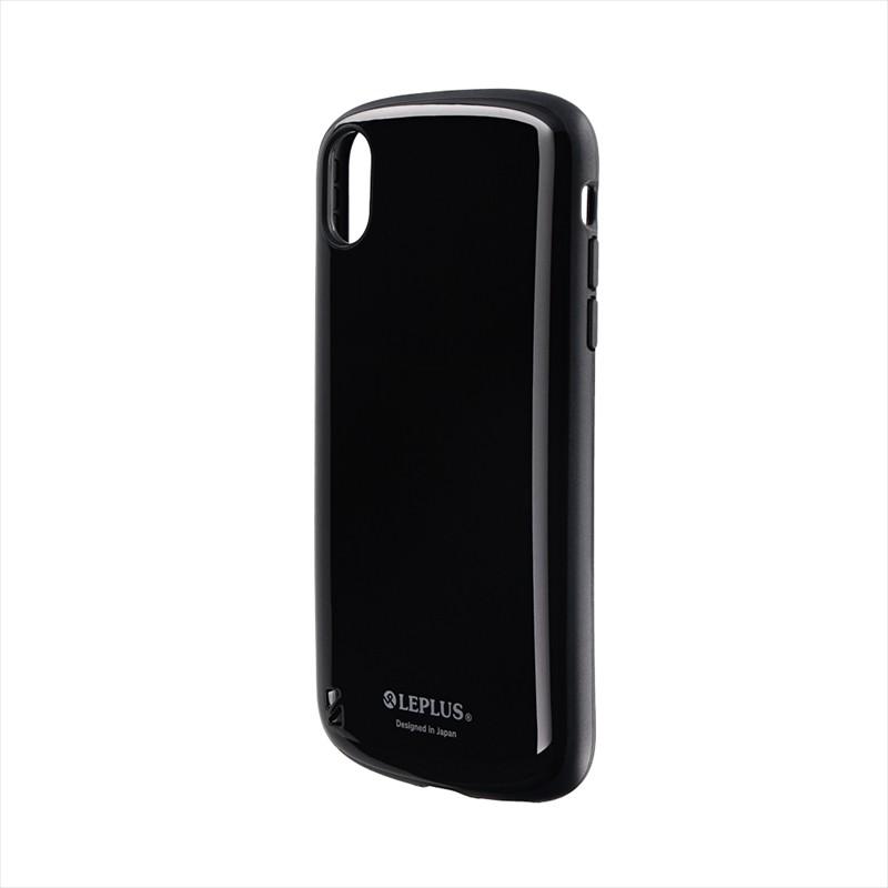 iPhone XR 耐衝撃ハイブリッドケース「PALLET」 ブラック