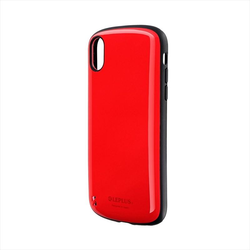 iPhone XR 耐衝撃ハイブリッドケース「PALLET」 レッド