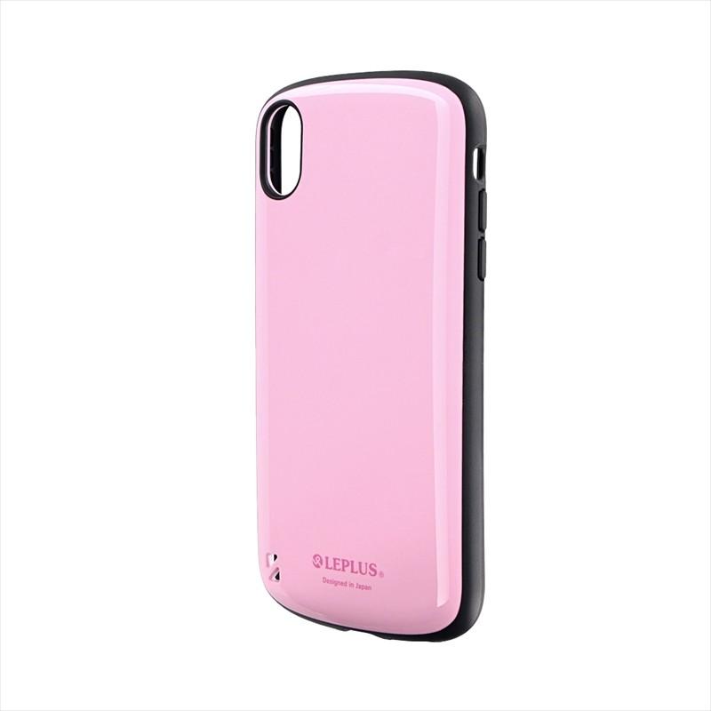 iPhone XR 耐衝撃ハイブリッドケース「PALLET」 ピンク