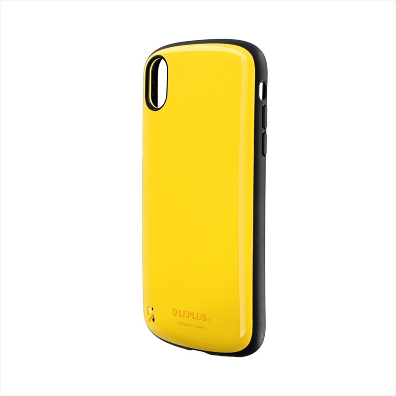 iPhone XR 耐衝撃ハイブリッドケース「PALLET」 イエロー