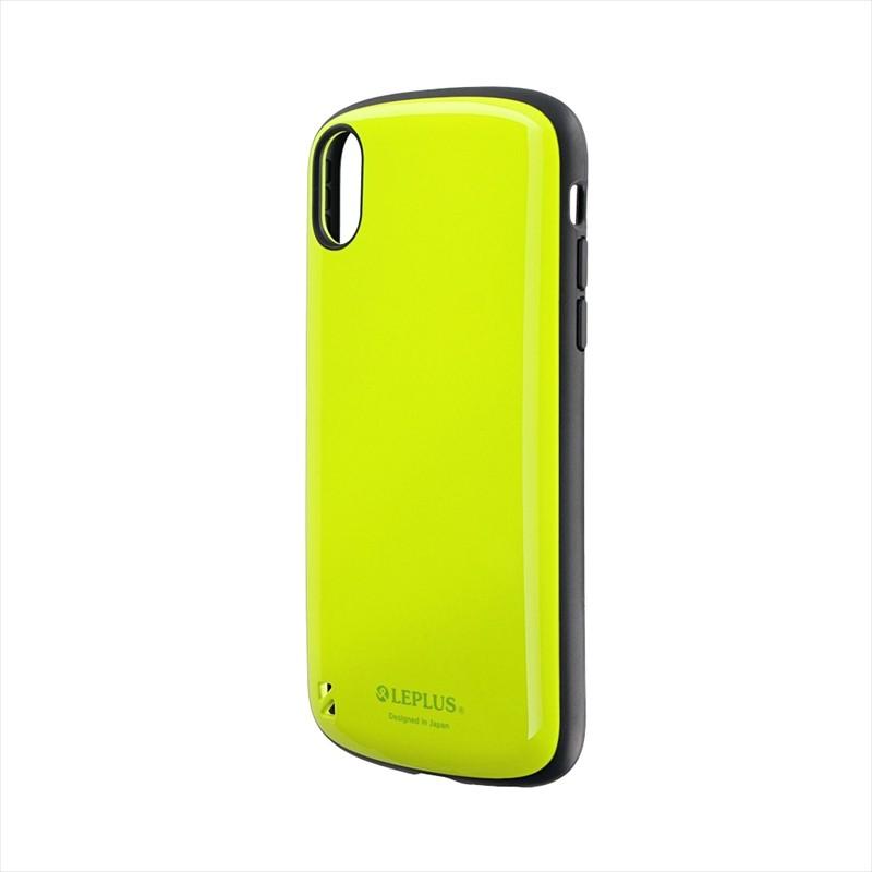 ◇iPhone XR 耐衝撃ハイブリッドケース「PALLET」 グリーン