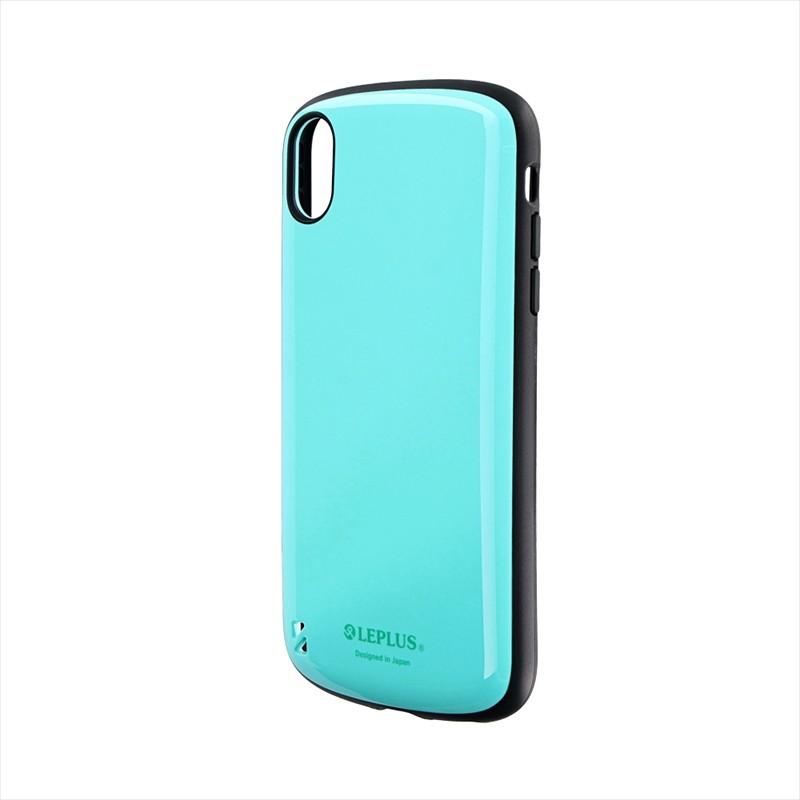 iPhone XR 耐衝撃ハイブリッドケース「PALLET」 ミントグリーン