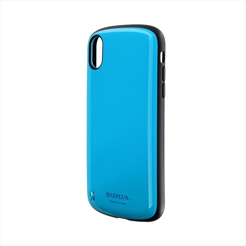 iPhone XR 耐衝撃ハイブリッドケース「PALLET」 スカイブルー