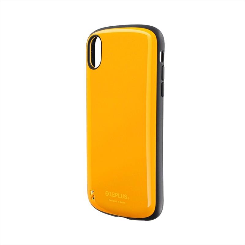 ◇iPhone XR 耐衝撃ハイブリッドケース「PALLET」 オレンジ