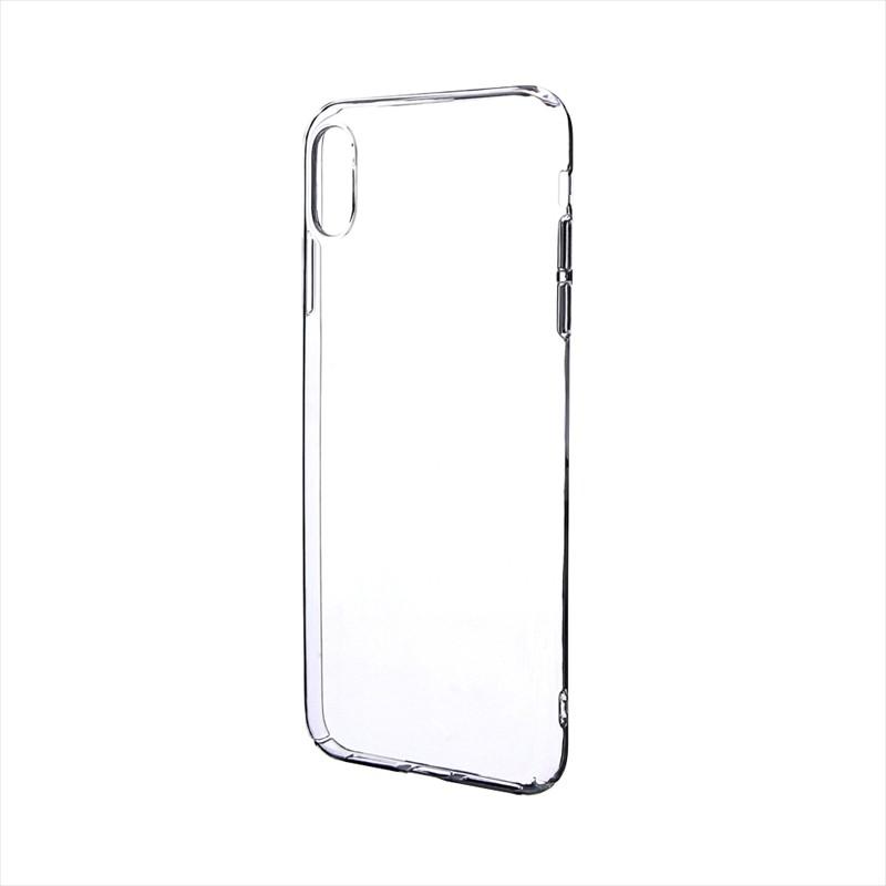 iPhone XS Max 「剛柔」 ハードケース「ノーマルハード」 クリア