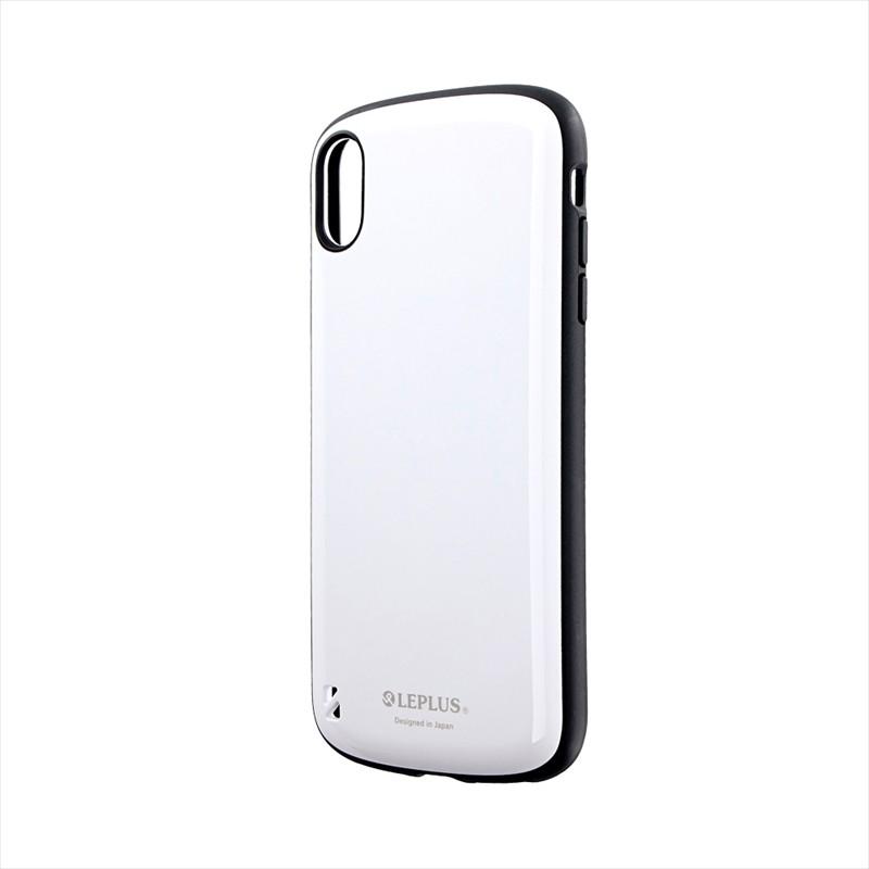 iPhone XS Max 耐衝撃ハイブリッドケース「PALLET」 ホワイト