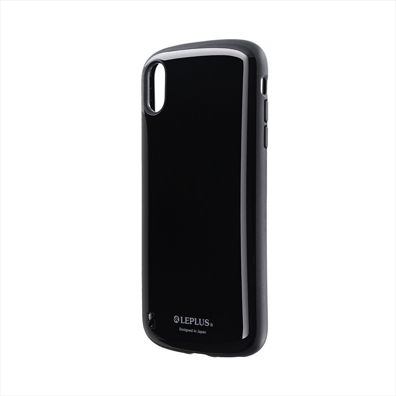 iPhone XS Max 耐衝撃ハイブリッドケース「PALLET」 ブラック