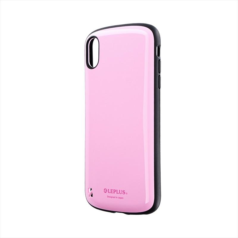 iPhone XS Max 耐衝撃ハイブリッドケース「PALLET」 ピンク