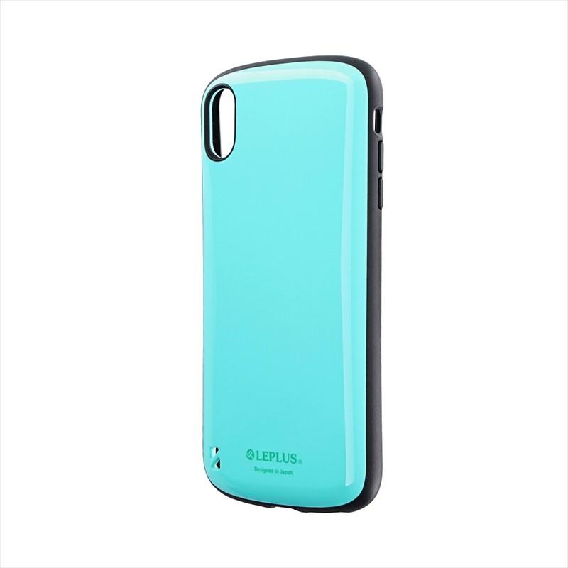 iPhone XS Max 耐衝撃ハイブリッドケース「PALLET」 ミントグリーン