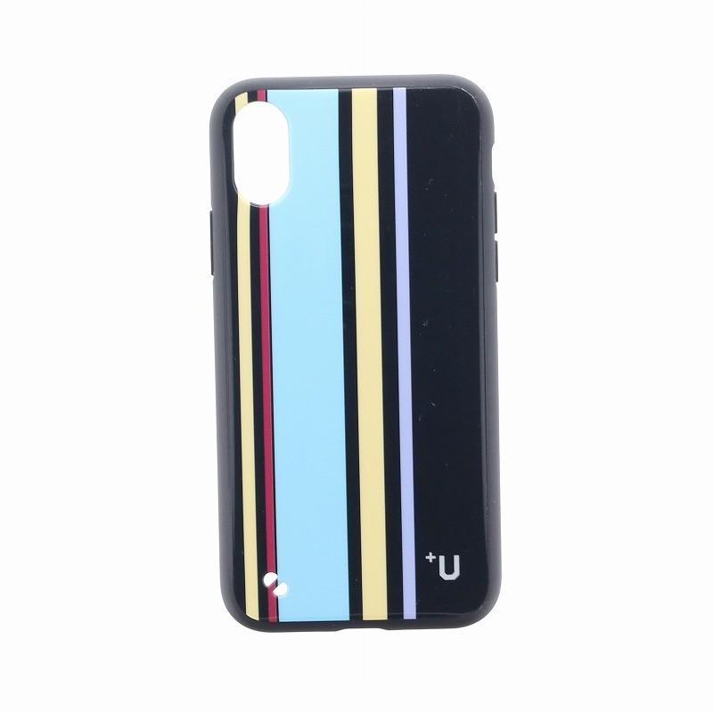 □iPhone XS/iPhone X 【+U】Eric/ハイブリットケース/グレー