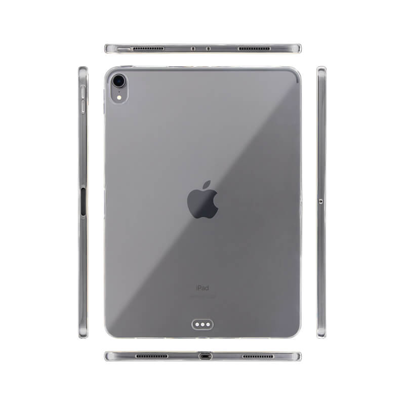 iPad Pro 2018 11inch クリアケース「剛柔」 CLEAR SOFT