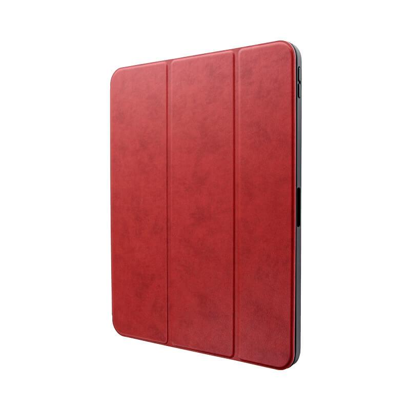 iPad Pro 2018 11inch ApplePencil収納可能フラップケース「Pencil Note」レッド