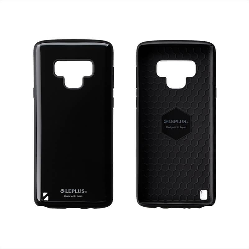 Galaxy Note9 SC-01L/SCV40 耐衝撃ハイブリッドケース「PALLET」 ブラック