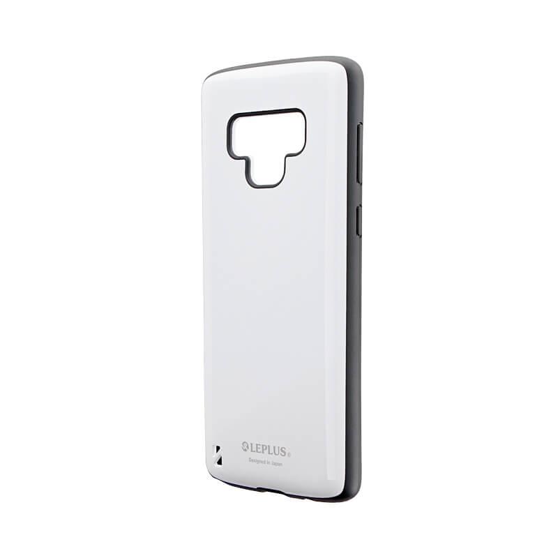 Galaxy Note9 SC-01L/SCV40 耐衝撃ハイブリッドケース「PALLET」 ホワイト