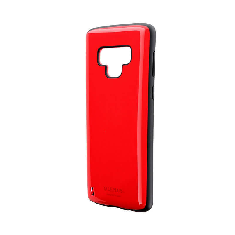 Galaxy Note9 SC-01L/SCV40 耐衝撃ハイブリッドケース「PALLET」 レッド