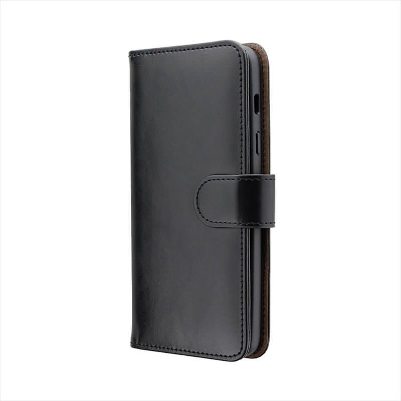 Galaxy Feel2 SC-02L PUレザーベルト回転ブックケース「BOOK SPIN」 ブラック