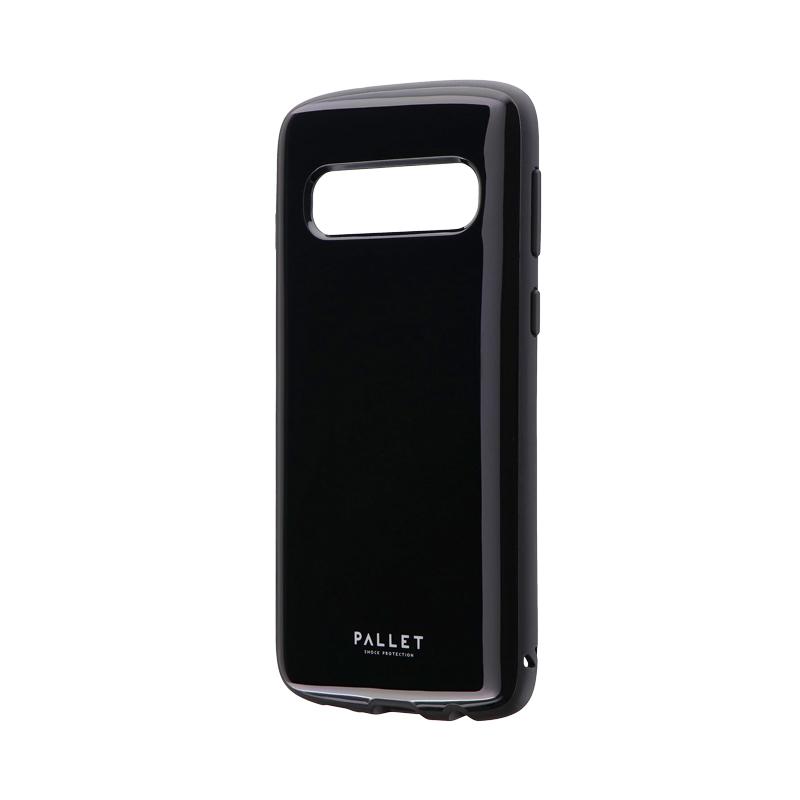 Galaxy S10 SC-03L/SCV41 耐衝撃ハイブリッドケース 「PALLET AIR」 ブラック