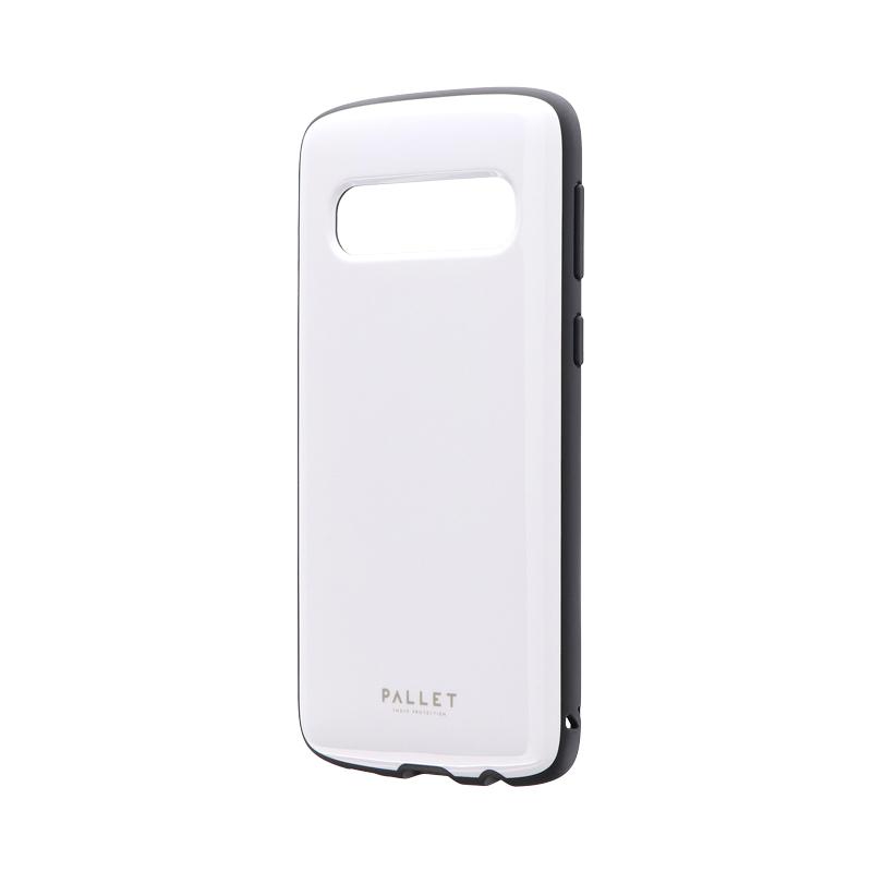 Galaxy S10 SC-03L/SCV41 耐衝撃ハイブリッドケース 「PALLET AIR」 ホワイト