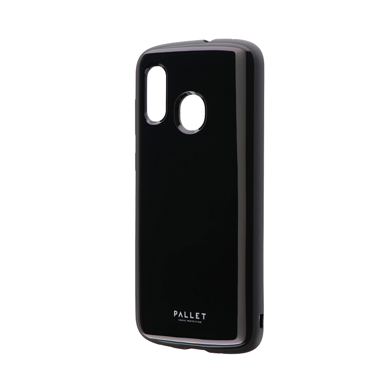 Galaxy A30 SCV43 耐衝撃ハイブリッドケース 「PALLET AIR」 ブラック