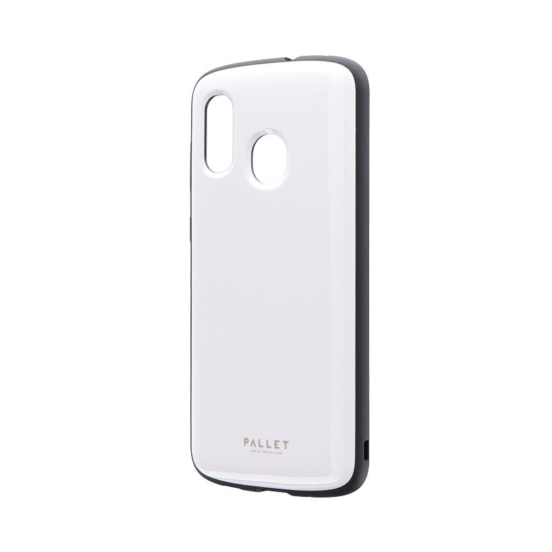 Galaxy A30 SCV43 耐衝撃ハイブリッドケース 「PALLET AIR」 ホワイト