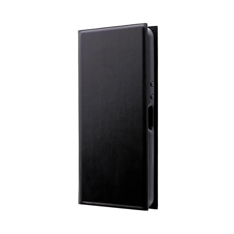 Xperia Ace SO-02L 薄型手帳型ケース 「PRIME」 ブラック