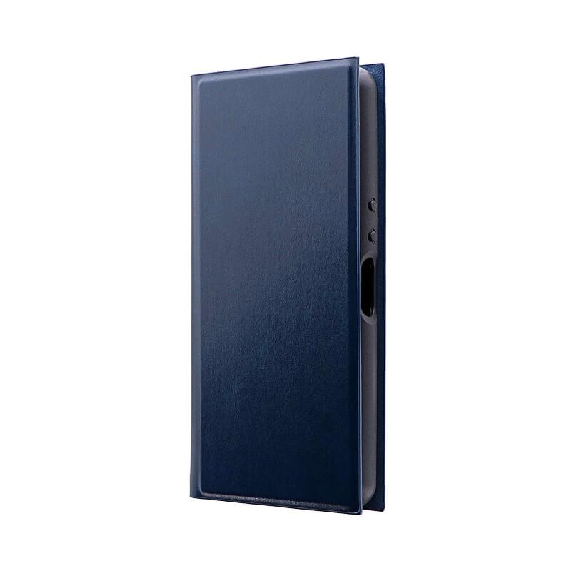 Xperia Ace SO-02L 薄型手帳型ケース 「PRIME」 ネイビー