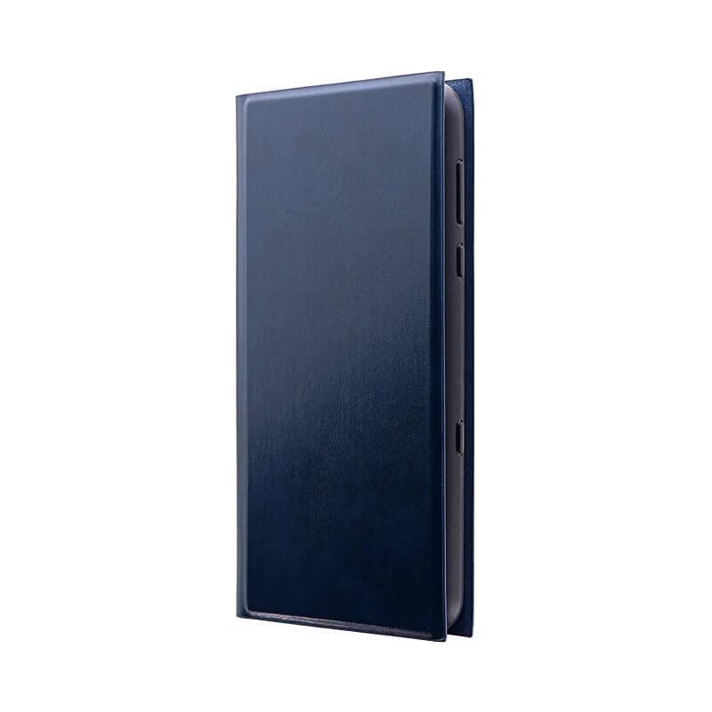 AQUOS R3 SH-04L/SHV44/SoftBank 薄型手帳型ケース 「PRIME」 ネイビー