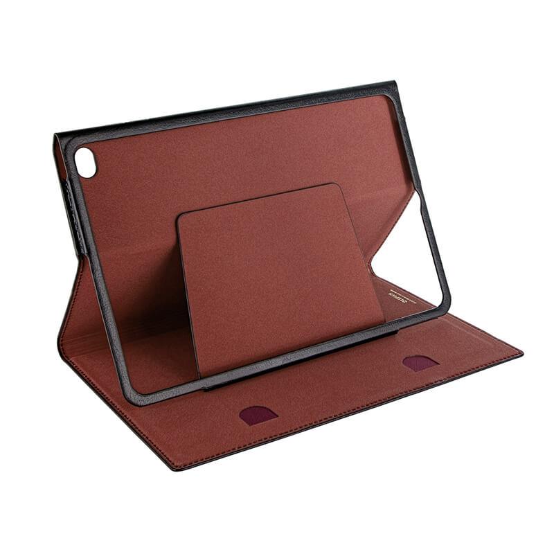 iPad mini 2019/iPad mini 4 極薄一枚革フラップケース「PAGE」 ブラック