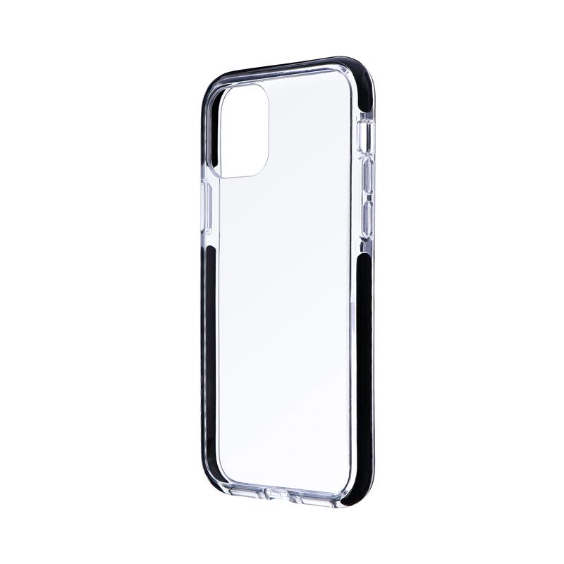 iPhone 11 Pro 耐衝撃3種ハイブリッドケース「CLEAR STRONG TOUGH」 ブラック