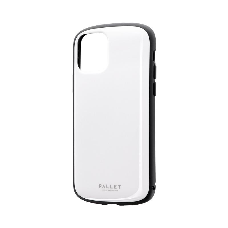 iPhone 11 Pro 超軽量・極薄・耐衝撃ハイブリッドケース「PALLET AIR」 ホワイト