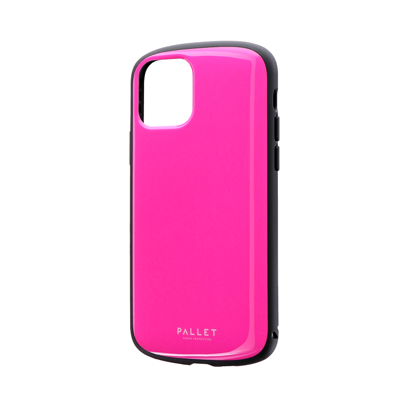 iPhone 11 Pro 超軽量・極薄・耐衝撃ハイブリッドケース「PALLET AIR」 ホットピンク