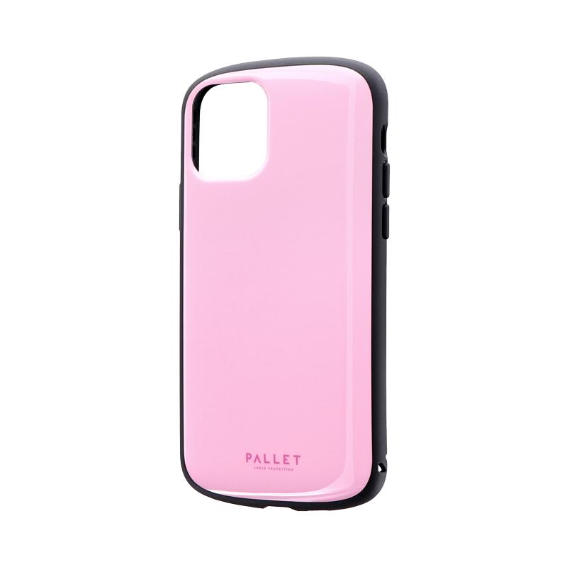iPhone 11 Pro 超軽量・極薄・耐衝撃ハイブリッドケース「PALLET AIR」 ピンク