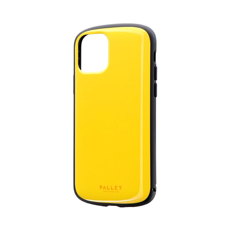 iPhone 11 Pro 超軽量・極薄・耐衝撃ハイブリッドケース「PALLET AIR」 イエロー