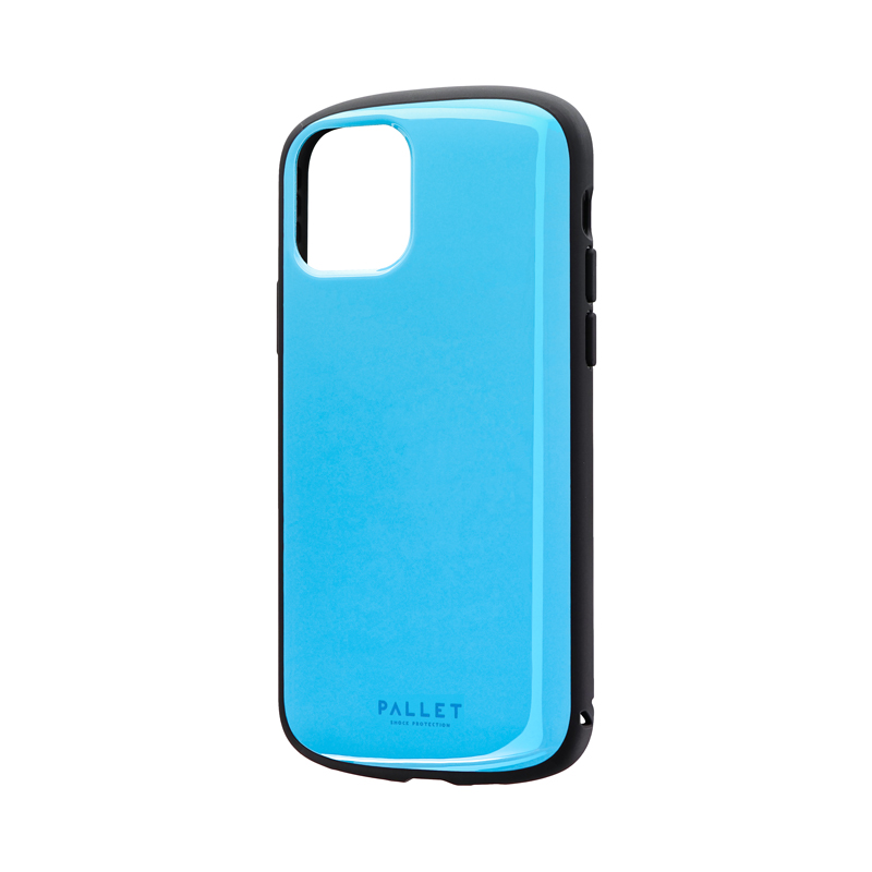 iPhone 11 Pro 超軽量・極薄・耐衝撃ハイブリッドケース「PALLET AIR」 スカイブルー