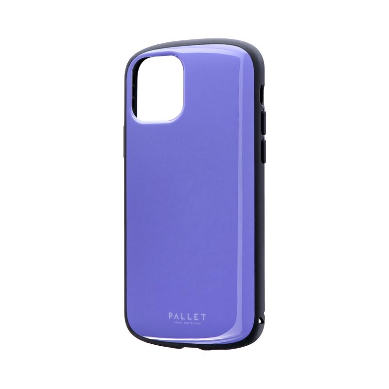 iPhone 11 Pro 超軽量・極薄・耐衝撃ハイブリッドケース「PALLET AIR」 パープル
