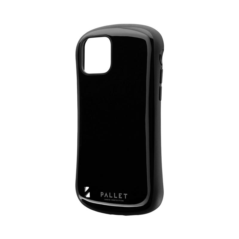 iPhone 11 Pro 耐衝撃ハイブリッドケース「PALLET」 ブラック