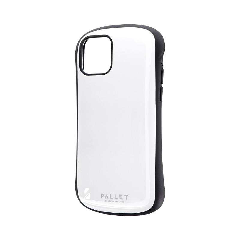 iPhone 11 Pro 耐衝撃ハイブリッドケース「PALLET」 ホワイト