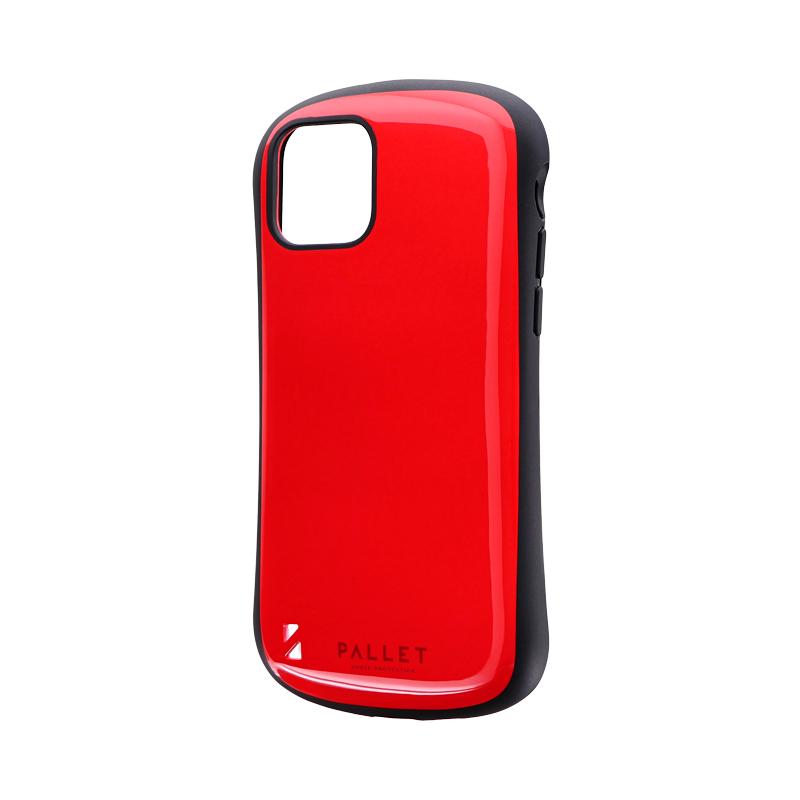 iPhone 11 Pro 耐衝撃ハイブリッドケース「PALLET」 レッド
