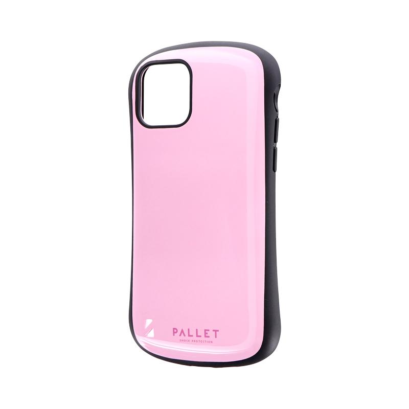 iPhone 11 Pro 耐衝撃ハイブリッドケース「PALLET」 ピンク