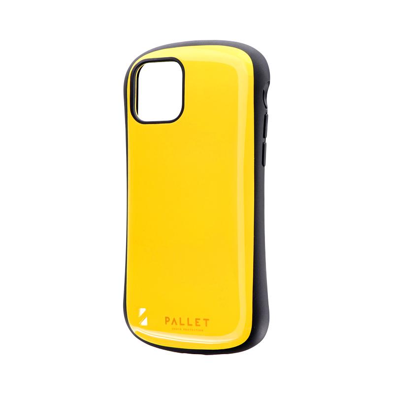 iPhone 11 Pro 耐衝撃ハイブリッドケース「PALLET」 イエロー