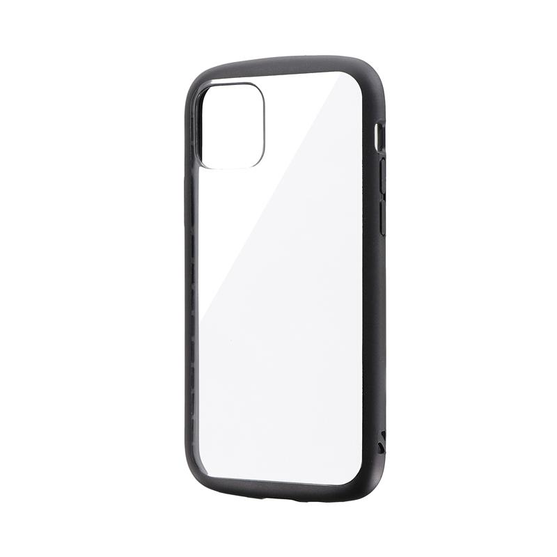 iPhone 11 Pro 耐衝撃ハイブリッドケース「PALLET CLEAR」 ブラック
