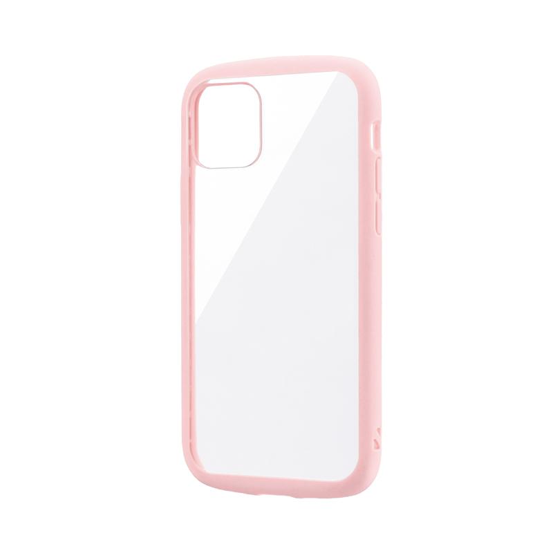 iPhone 11 Pro 耐衝撃ハイブリッドケース「PALLET CLEAR」 ピンク