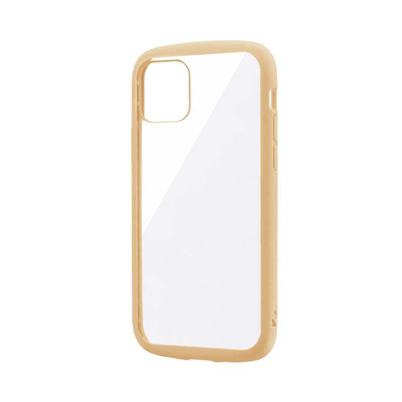 iPhone 11 Pro 耐衝撃ハイブリッドケース「PALLET CLEAR」 ベージュ