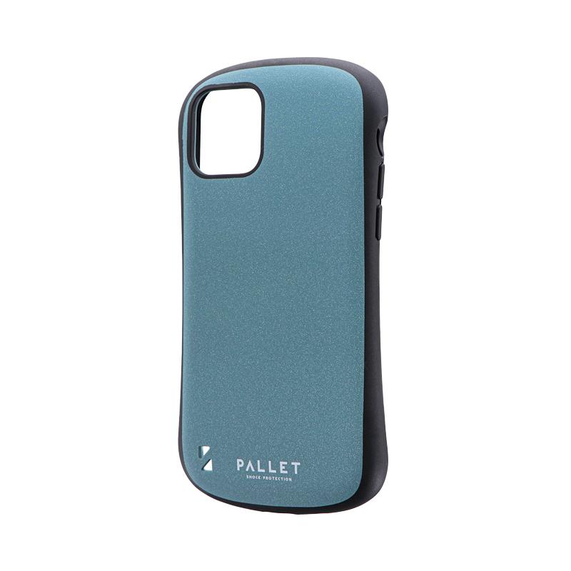 iPhone 11 Pro 超軽量・極薄・耐衝撃ハイブリッドケース「PALLET STEEL」 ライトブルー
