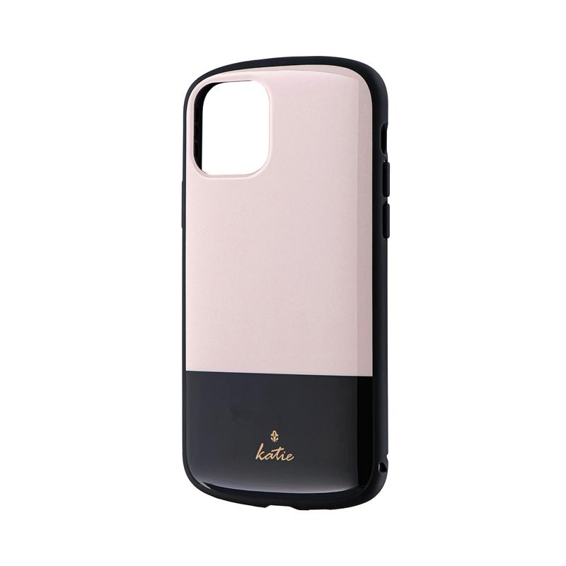 iPhone 11 Pro 超軽量・極薄・耐衝撃ハイブリッドケース「PALLET Katie」 ツートンベージュ